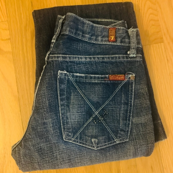 7 For All Mankind Denim - 7 for mankind jeans sz 27